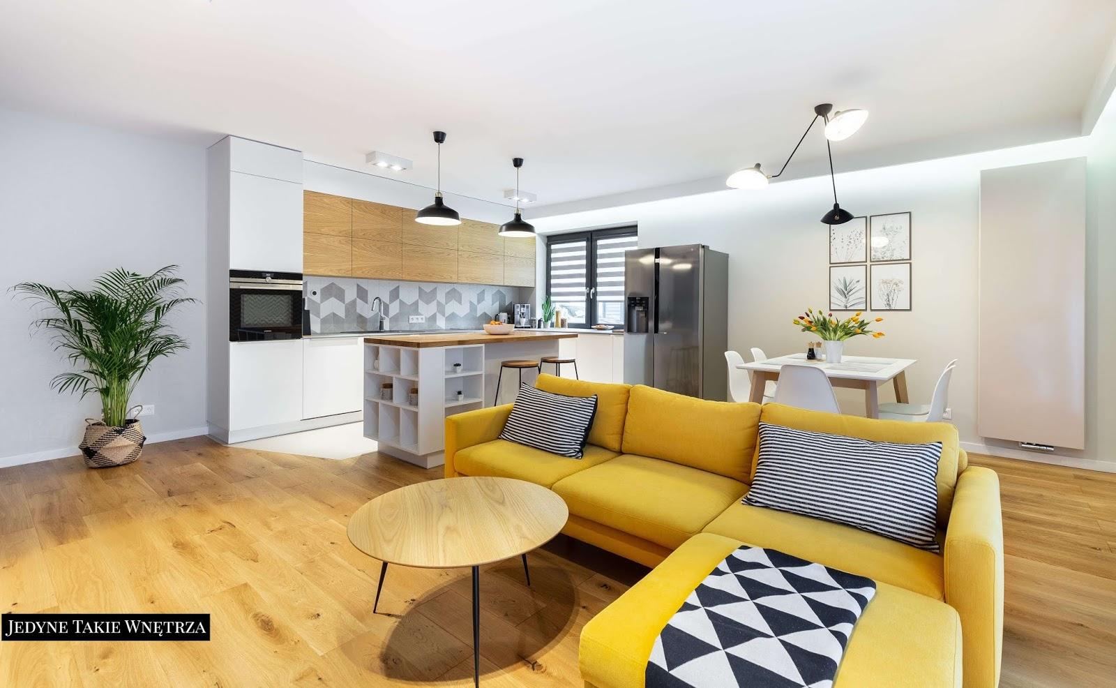 Projekt kontra realizacja - aranżacja mieszkania w stylu skandynawskim