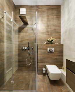 keramik kamar mandi motif kayu