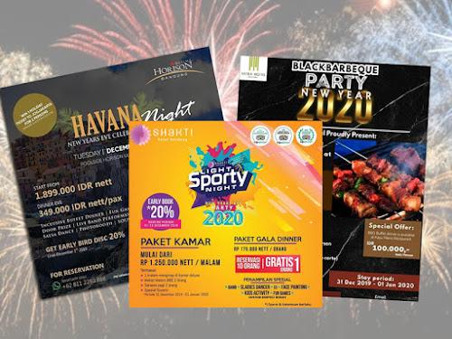 Event Malam Tahun Baru 2020 Hotel-Hotel di Bandung