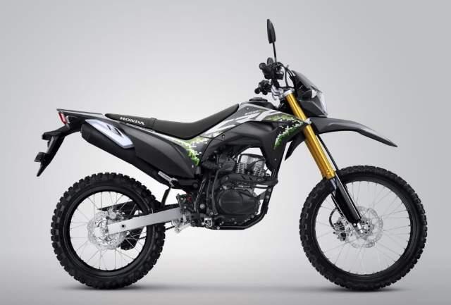 Pilihan warna Honda CRF150L Extreme Grey 2020