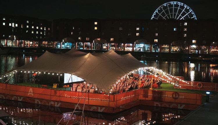 10 Reasons to Visit Liverpool in December - floating christmas cinema