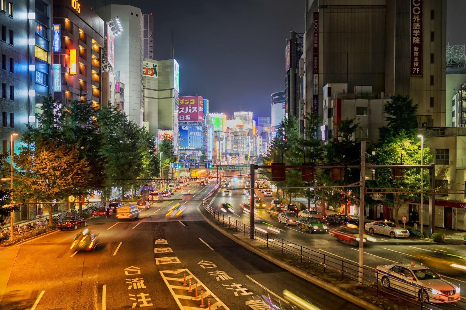 Hasil gambar untuk jalanan jepang hd
