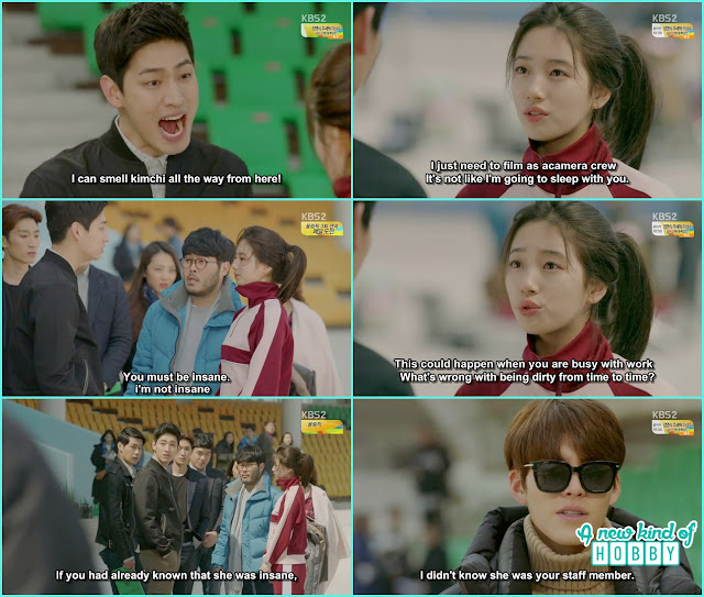 joon ho shout noh eul for her dressing sense at work and fired her-  Uncontrollably Fond - Episode 13 Review