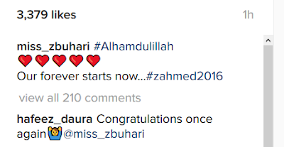Zahra Buhari and Idimini