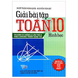 Giải Bài Tập Toán Hình Học 10 ebook PDF-EPUB-AWZ3-PRC-MOBI