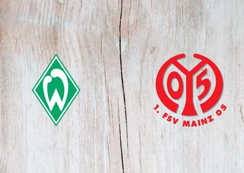 Werder Bremen vs Mainz 05 -Highlights 21 April 2021