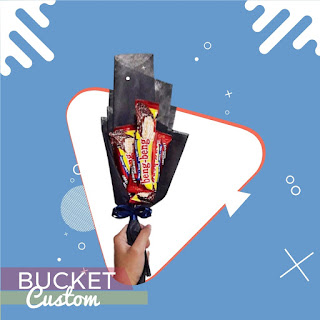 Custom Buket Customize Hand Bouquet snack bouquet