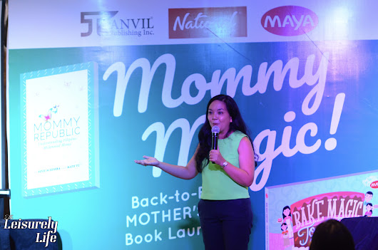 Anvil Publishing launches two books especially for mommies