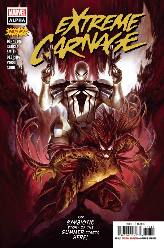 Cover of Extreme Carnage Alpha #1