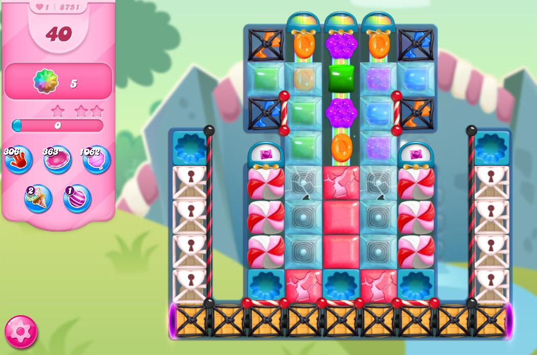 Candy Crush Saga level 8751