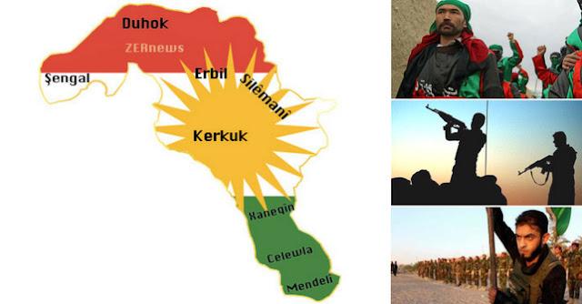 iran kerkuk kurdistan Irak milis asker kemal kerkuki