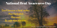 Don't become a victim of the heat