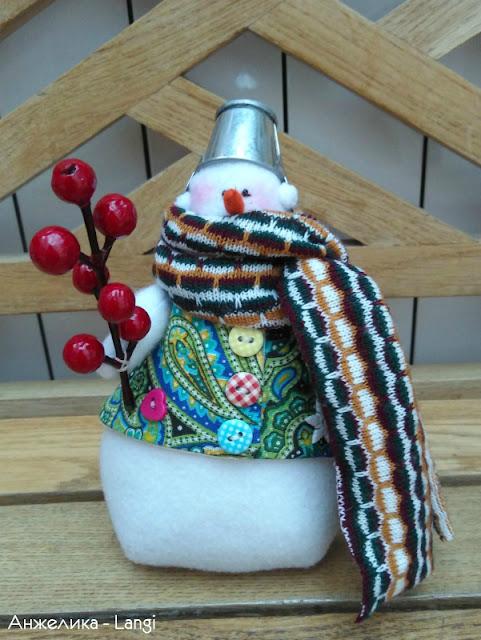 """СП """"Новогодние миниатюры"""". Снеговики"""