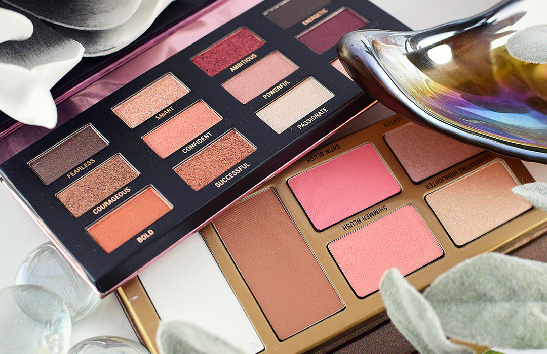 L.O.V The Rose x Copper Eyeshadow Palette, The Shape x Glow Face Palette,