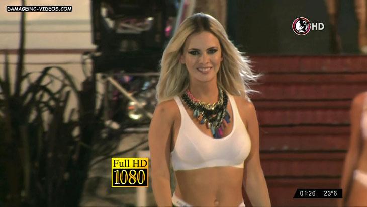 Alejandra Maglietti in lingerie damageinc videos HD