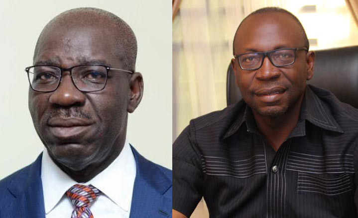 Obaseki's swearing in as Edo State governor is temporary - Ize-Iyamu