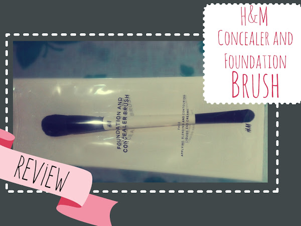 H&M Foundation and Concealer Brush Review