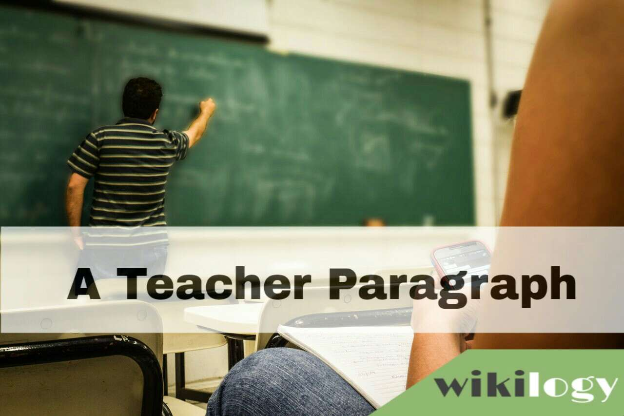 A teacher Paragraph, Daily Activities of a Teacher Paragraph