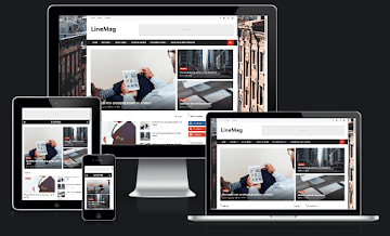 [Free Blogger Template] LineMag Blogger Template
