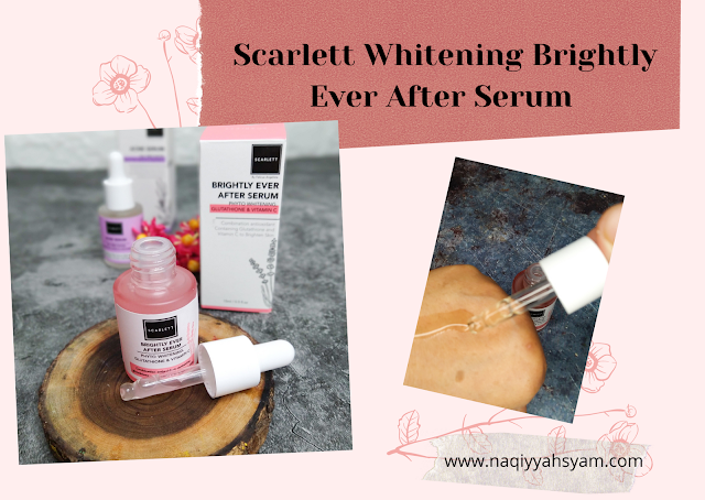 Scarlett Whitening Brightly Ever After Serum
