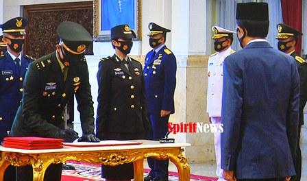 Presiden Jokowi, Berpesan Pada Praja TNI-Polri Harus Ikut Partisipasi dan Belajar Selesaikan Krisis di Masa Pandemi