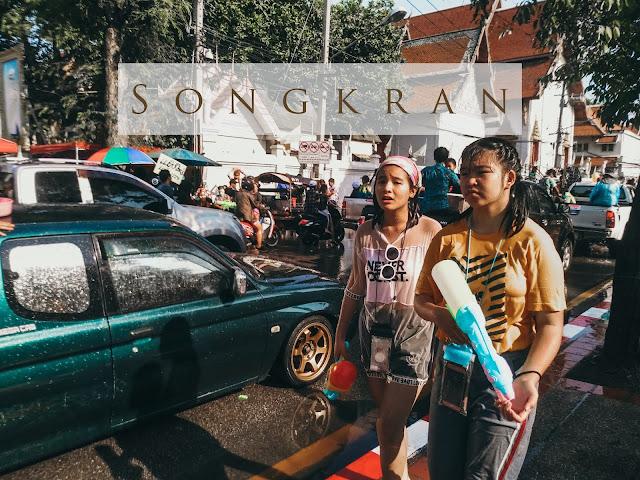 Songkran – tajski festiwal wody w upalnym Chiang Mai