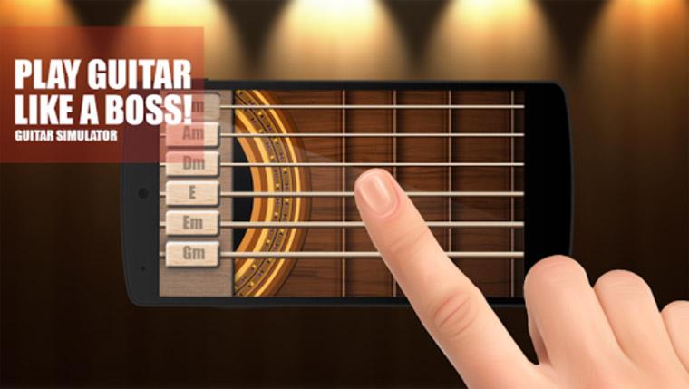 Aplikasi Terbaru Belajar Bermain Gitar di HP Android