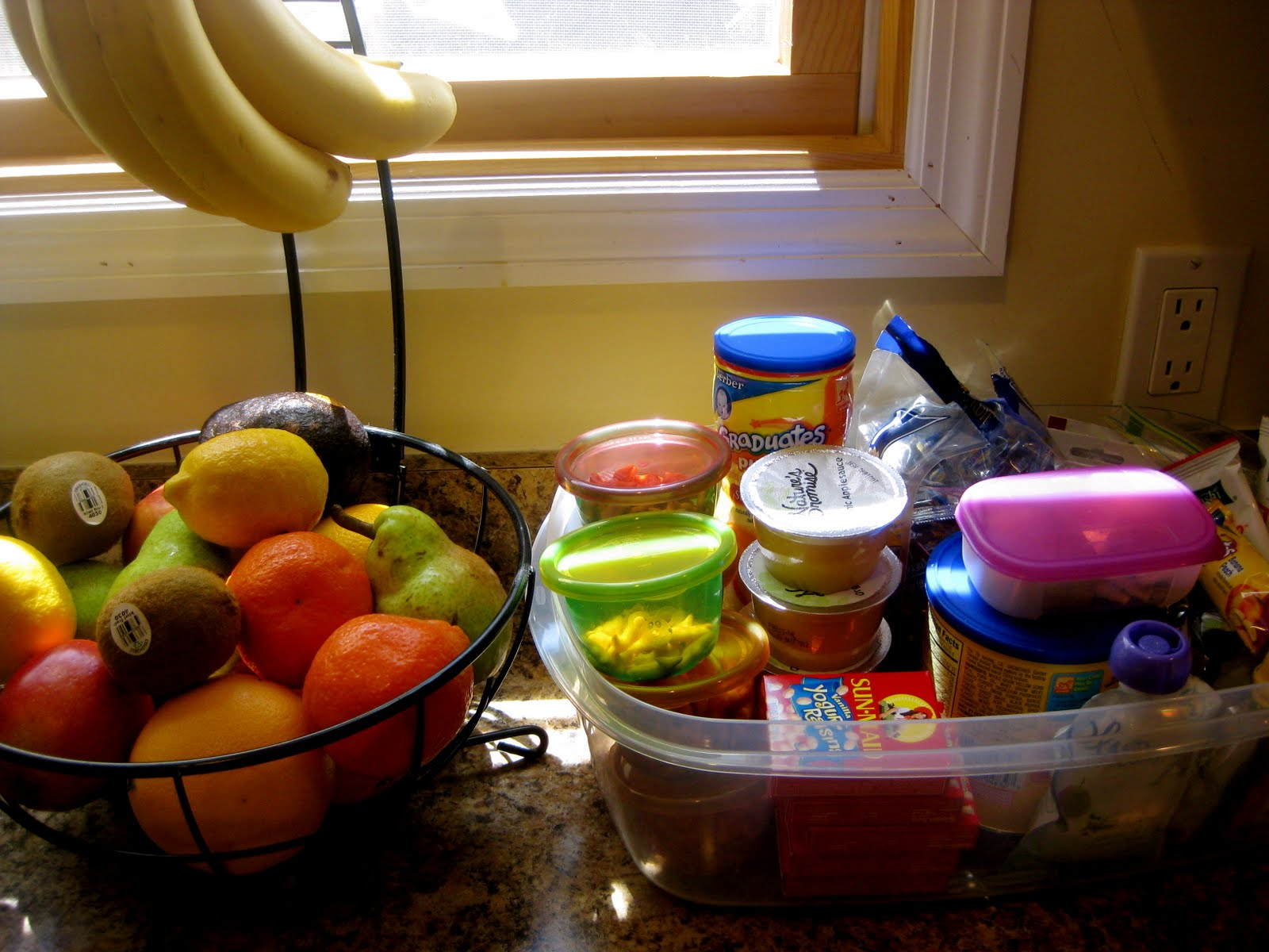 Fruit Bowl For Counter Tryitmom Tuesday Tip 1 Snack Stations