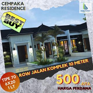 Rumah Minimalis Murah Harga Perdana Hanya 500 JUTA Dekat Pintu Tol Helvetia Medan Sumatera Utara