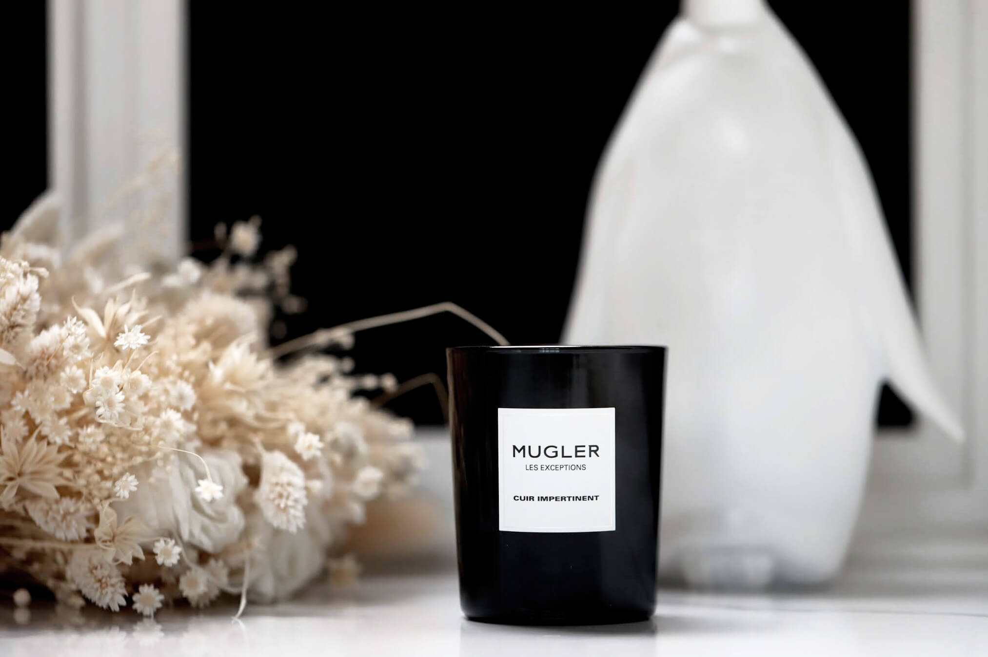 Mugler Les Exceptions Bougie Cuir Impertinent