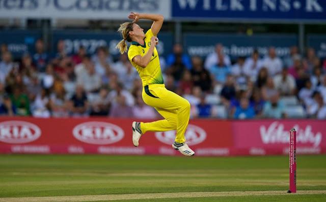 एलिस पेरी T20 इंटरनेशनल क्रिकेट में 1000 रन और 100 विकेट लेने का कारनामा करने वाली पहली खिलाड़ी बनी