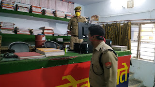 कोतवाली कालपी का आकस्मिक निरीक्षण किया Covid-19 से बचाव हेतु साफ-सफाई व सोशल डिस्टेंसिंग के सम्बन्ध में आवश्यक दिशा-निर्देश दिए -पुलिस अधीक्षक जालौन       संवाददाता, Journalist Anil Prabhakar.                 www.upviral24.inकोतवाली कालपी का आकस्मिक निरीक्षण किया Covid-19 से बचाव हेतु साफ-सफाई व सोशल डिस्टेंसिंग के सम्बन्ध में आवश्यक दिशा-निर्देश दिए -पुलिस अधीक्षक जालौन       संवाददाता, Journalist Anil Prabhakar.                 www.upviral24.in