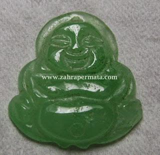 Batu Permata Giok Carving Budha