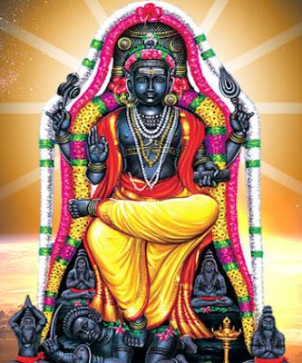 Dakshinamurthy Ashtottara 108 Shatanamavali Lyrics Devanagiri