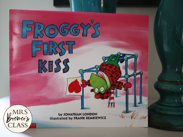 Froggys First Kiss book study literacy unit with Common Core aligned companion activities and craftivity for K-1