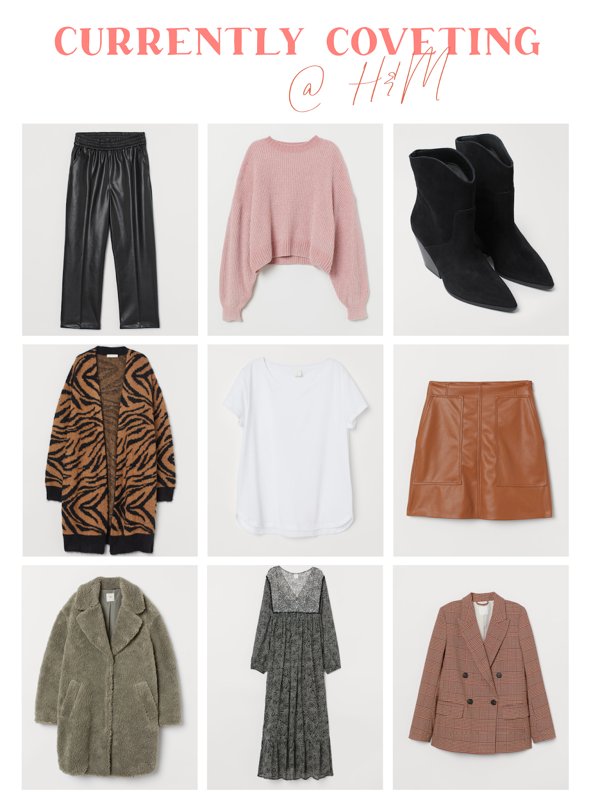 Currently Coveting: H&M Fall