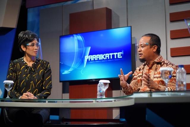 Andi Sudirman Bahas Pemuda Pemimpin Inspirasi di Obrolan Paraikatte TVRI Sulsel.lelemuku.com.jpg