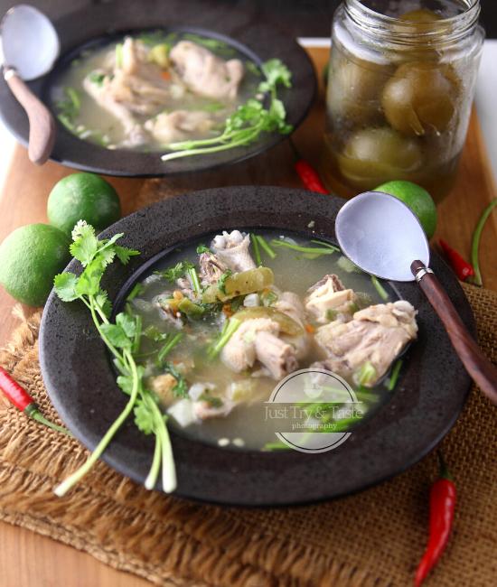 Resep Sup Ayam ala Kamboja JTT
