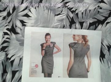 conhiloslanasybotones - RUMS #24: vestido estampado