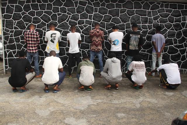 14 internet fraudsters arrested in Lagos