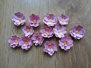 Kwiatki do kartek