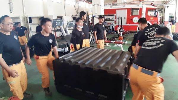 彰化縣消防局特種搜救隊編組動員訓練 強化災難應變速度