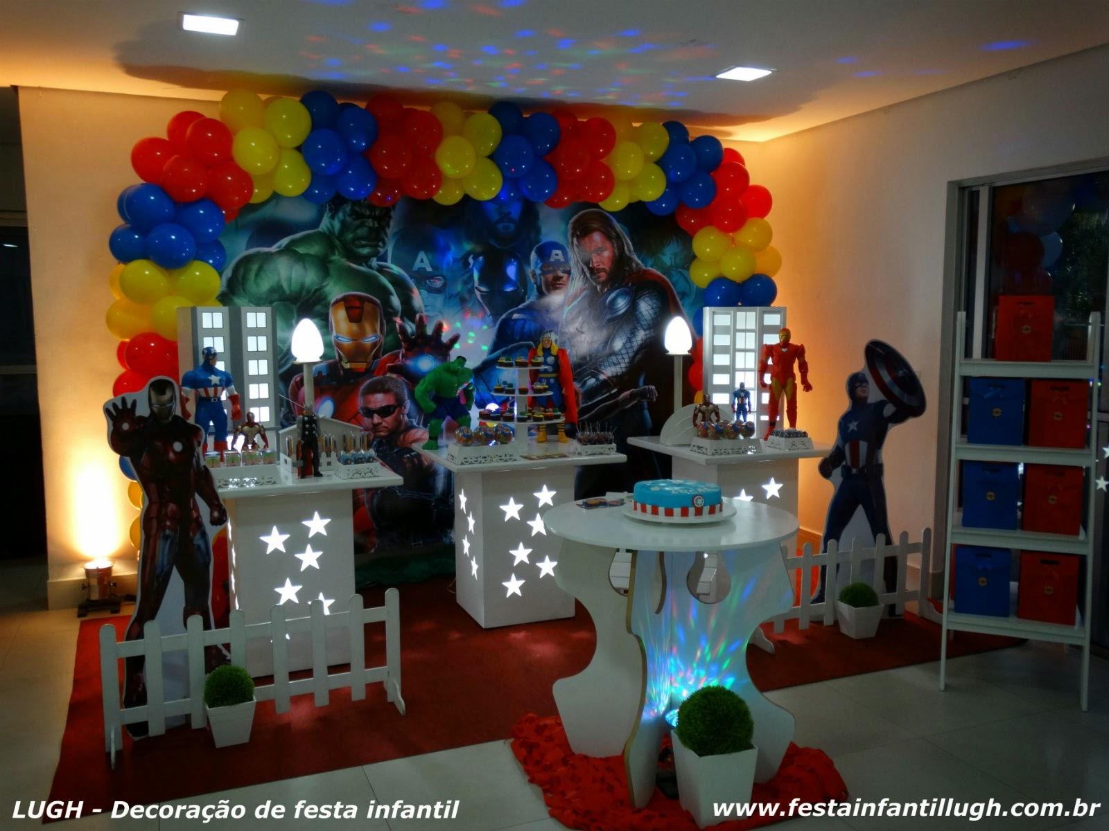 Decoração provençal simples para festa de aniversário infantil