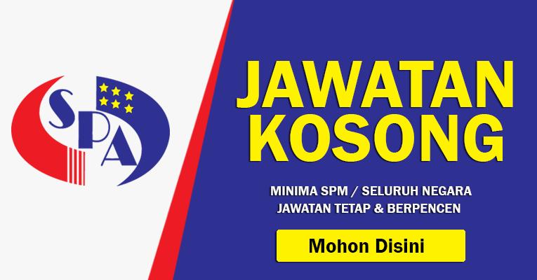 Jawatan Kosong di Jabatan Perkhidmatan Awam Malaysia JPA