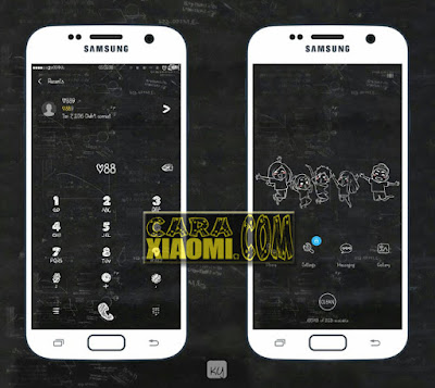 Screenshoot Tema MIUI Kapur Mtz Theme For Xoami MIUI Terbaru by Garing Kayu