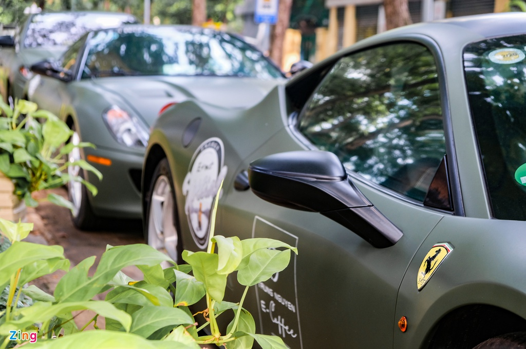 Dàn siêu xe và xe sang tụ họp tại TP.HCM, khởi động hành trình siêu xe