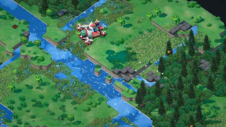 The eco-strategic game Terra Nile has been announced