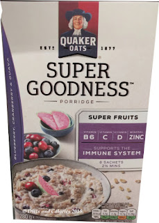 Quaker Oats Super Goodness Super Fruits Porridge