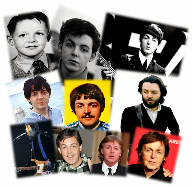 Image result for paul mccartney through the years