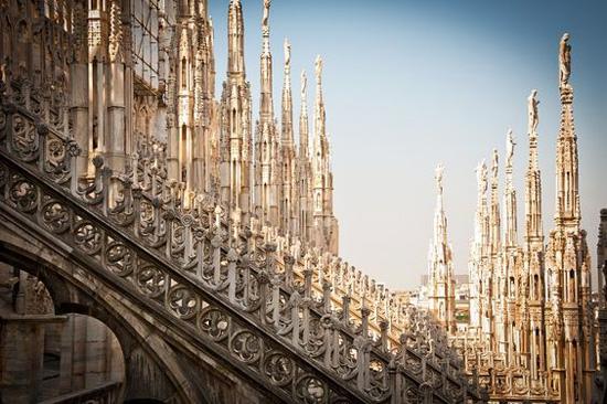 10 cosas en Milán Duomo